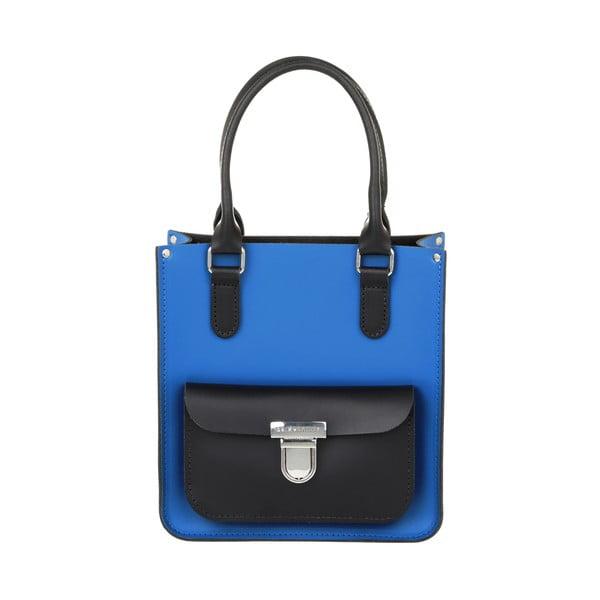 Kožená kabelka Taylor Mini Royal Blue/Black