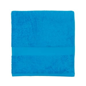 Modrá froté osuška Walra Frottier, 70x140cm