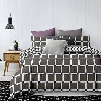 Lenjerie de pat din microfibră DecoKing Wall Alice, 200 x 220 cm