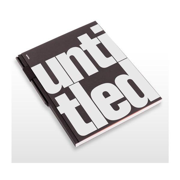Skicák s tužkou Untitled, 21x29,7 cm