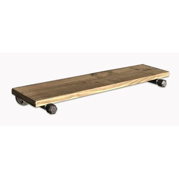Raft suspendat din lemn Raffik Pipe