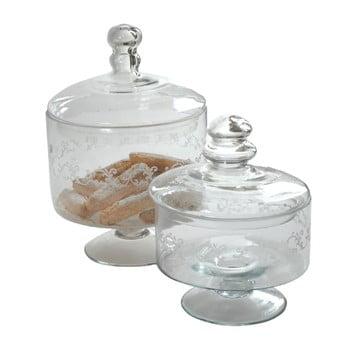 Set 2 recipiente din sticlă Antic Line de la Antic Line