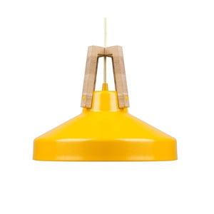 Žluté stropní světlo Loft You Work, 33 cm