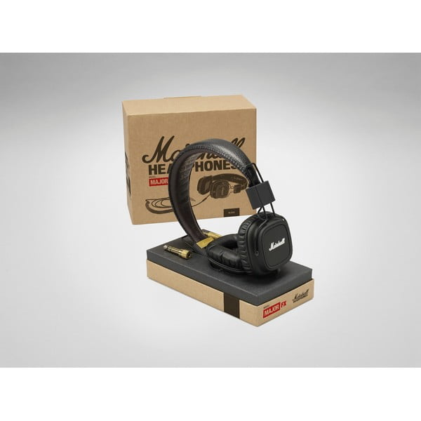 Sluchátka Marshall Major Black FX (vhodná pro Apple)