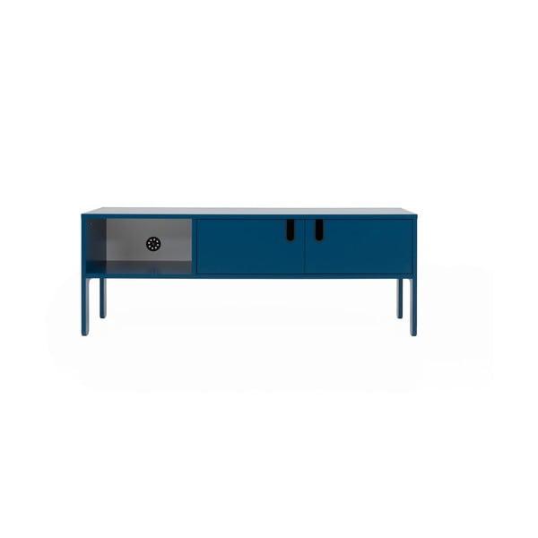 Petrolejově modrý TV stolek Tenzo Uno, šířka 137cm