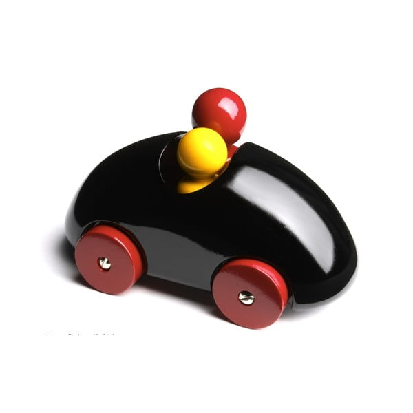 Dřevěné autíčko Streamliner Rally Black