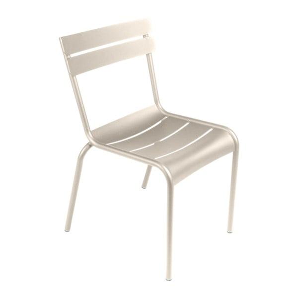 Světle béžová zahradní židle Fermob Luxembourg