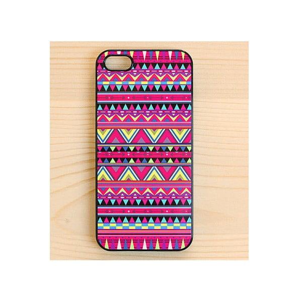 Obal na iPhone 5, Aztec Hot Pink