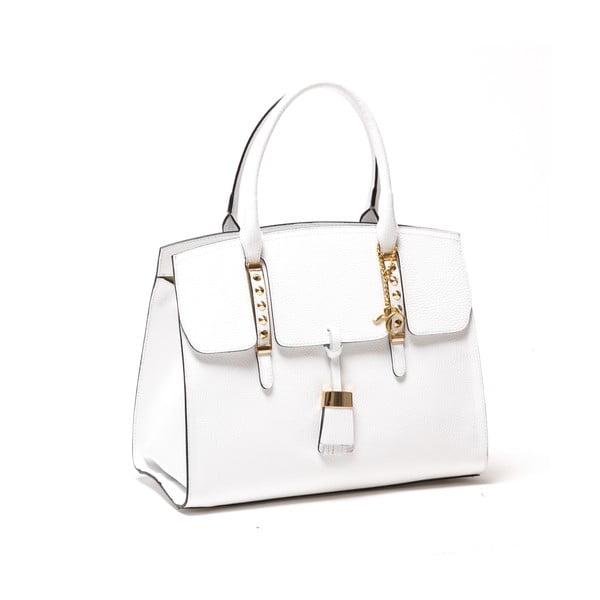 Kožená kabelka Renata Corsi 432, bílá