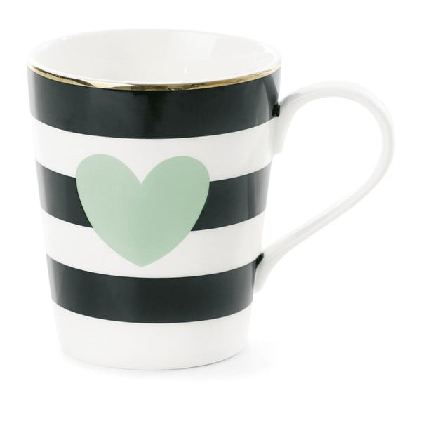 Coffee Mint porcelán bögre, Ø 8 cm - Miss Étoile