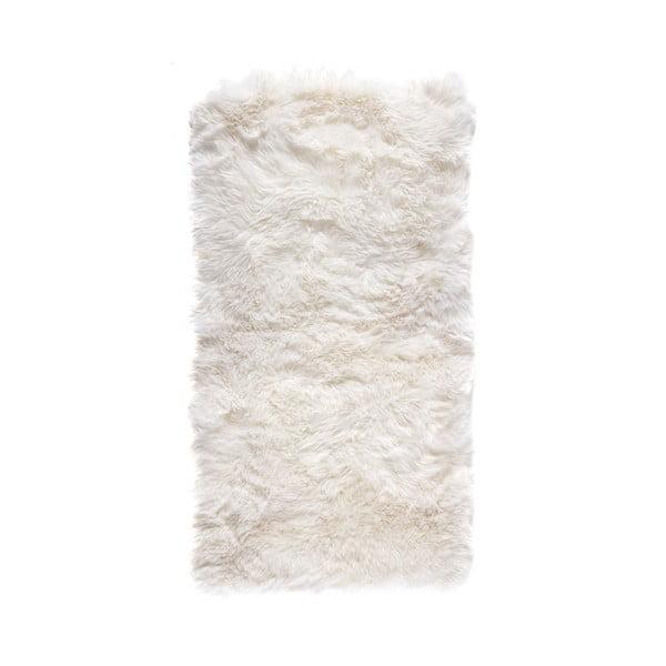 Bílý obdélníkový koberec Royal Dream Zealand