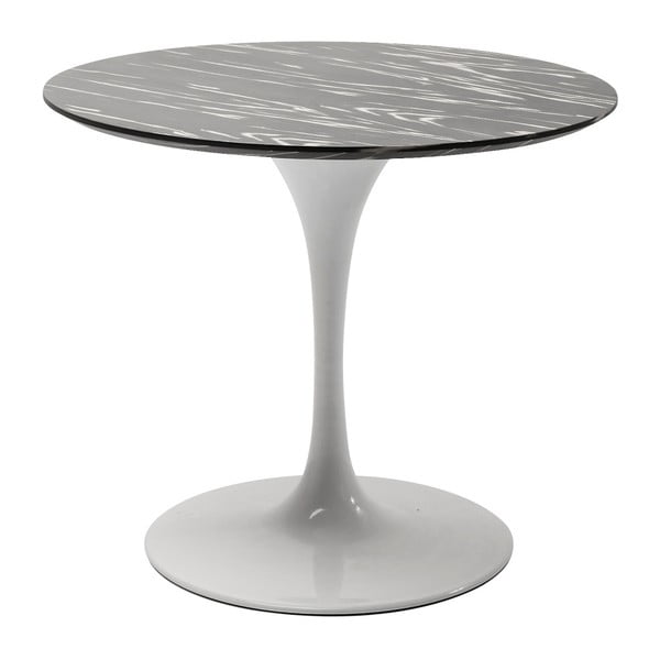 Bílá stojná noha jídelního stolu Kare Design Invitation, ⌀ 60 cm