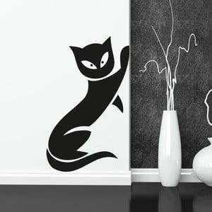Samolepka na stěnu Wallvinil Kočka, pravá strana