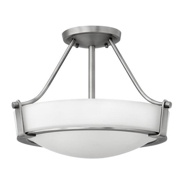 Stropní svítidlo ve stříbrné barvě Elstead Lighting Hathaway Tres Semi