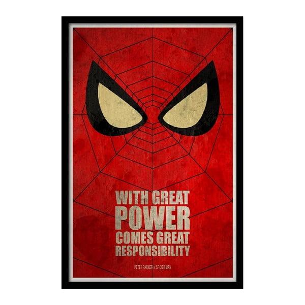 Plakát Great Power, 35x30 cm