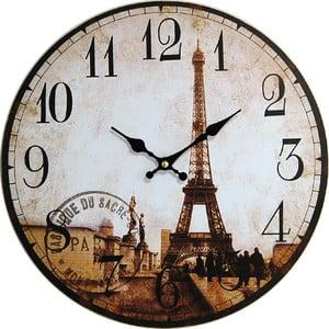 Nástěnné hodiny Eiffel