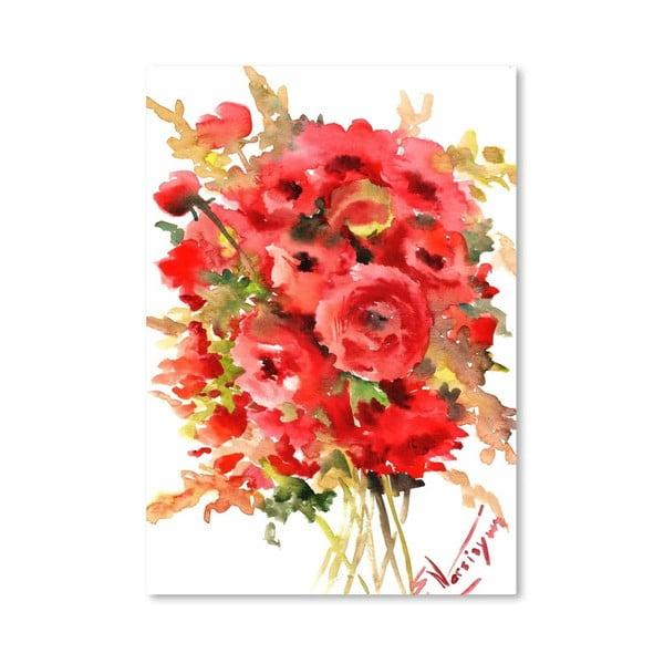 Plakát Red Ranunculus od Suren Nersisyan