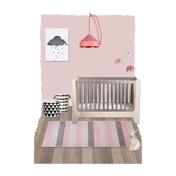 Dětský koberec Mia, 80x150 cm