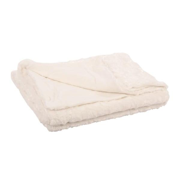 Pléd Mink Fur Blanc, 130x150 cm
