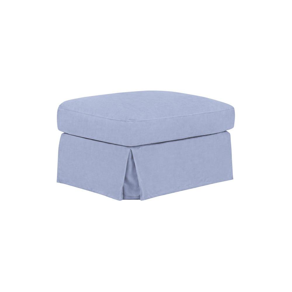 Modrá podnožka THE CLASSIC LIVING Jean