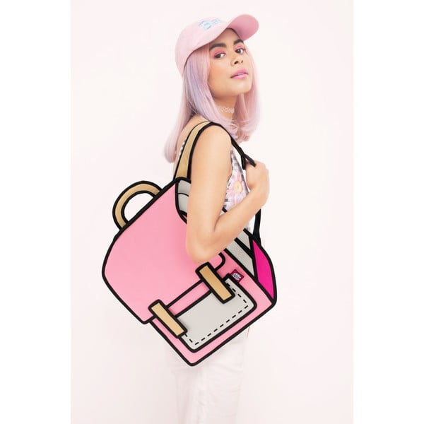 Komiksový batoh Spaceman Pink
