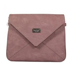 Starorůžová kabelka Dara bags Envelope No.490