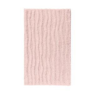 Růžová koupelnová předložka Aquanova Taro, 60x100cm