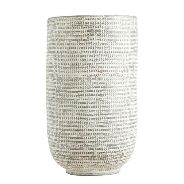 Bílá váza Canett Blova