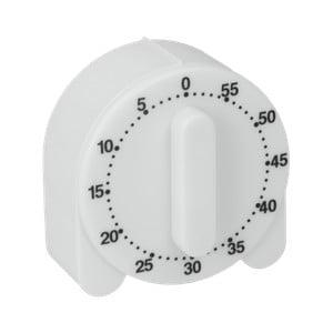 Bílá kuchyňská minutka Metaltex Time