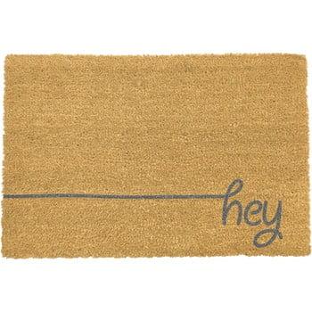 Covoraș intrare Artsy Doormats Hey Scribble, 40 x 60 cm, gri imagine