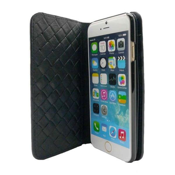 Obal na iPhone6 Wallet Weave Black