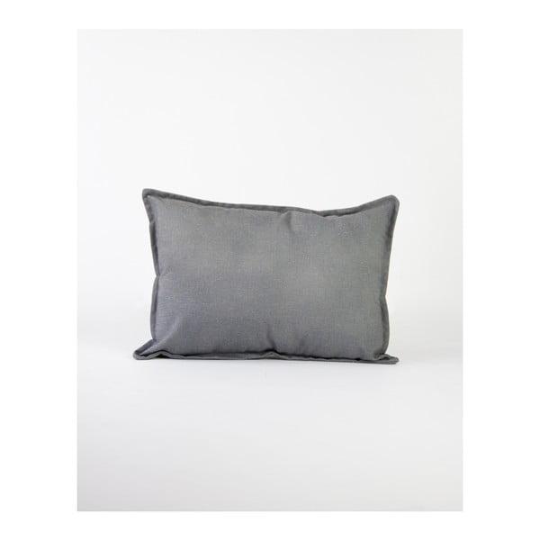 Szürke lenkeverék párnahuzat, 50 x 35 cm - Surdic