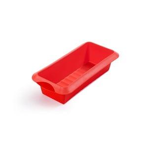 Červená silikonová forma na pečení Lékué, délka 28 cm