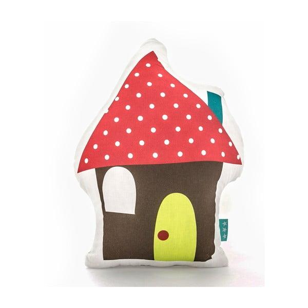 Bavlněný dětský polštářek Mr. Fox Happy Homes 40x30cm