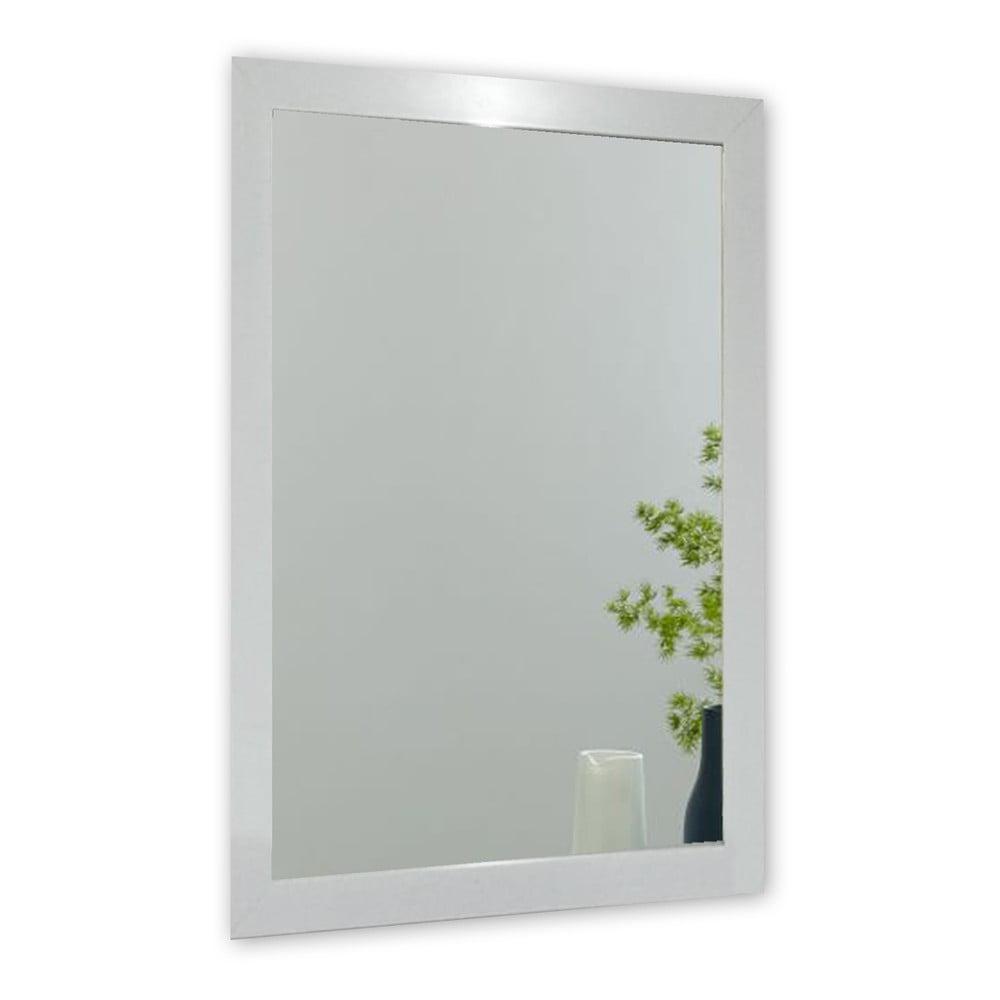 Nástěnné zrcadlo s rámem ve stříbrné barvě Oyo Concept Ibis, 40 x 55 cm