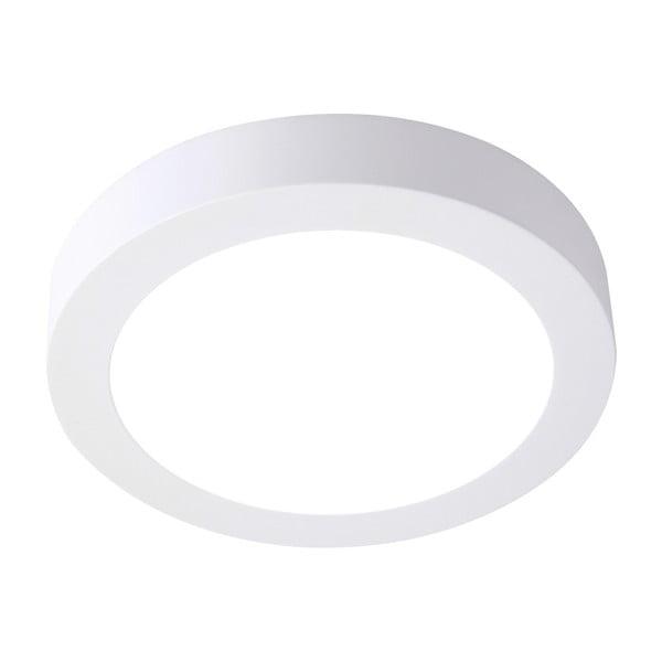 Biała okrągła lampa sufitowa SULION, ø 22,5 cm