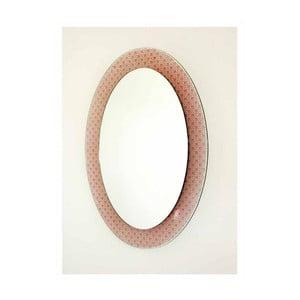 Nástěnné zrcadlo Foglia Rosso, 58x78 cm