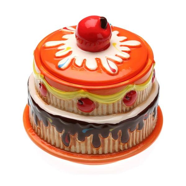 Nádoba ve tvaru dortu Orange Cake