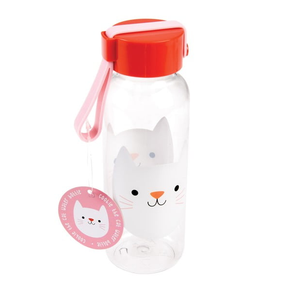 Sticlă pentru apă Rex London Cookie The Cat, 340 ml