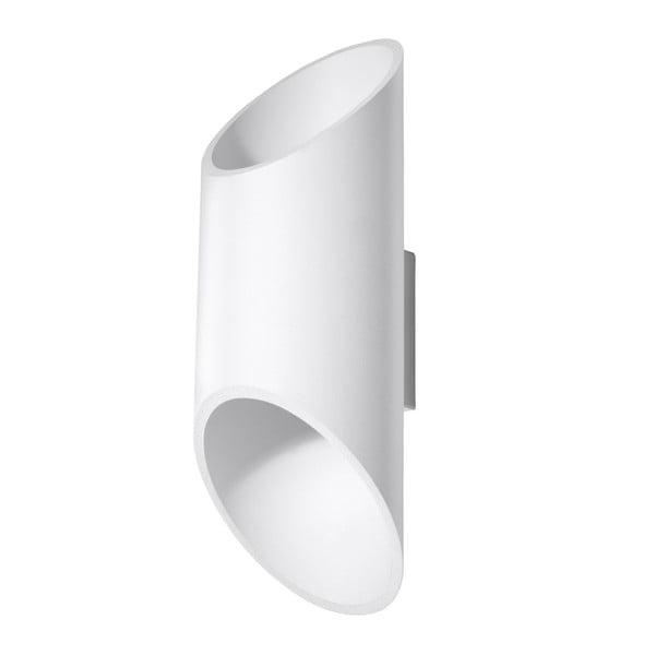 Bílé nástěnné světlo Nice Lamps Nixon, délka30cm
