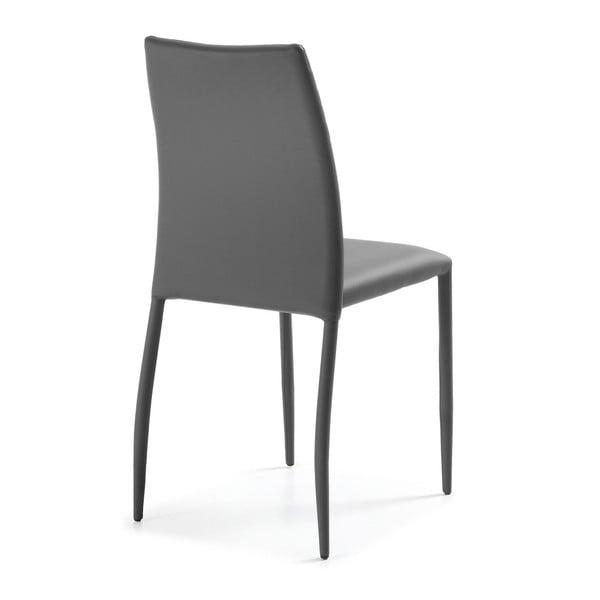 Sada 4 šedých židlí La Forma Fresh