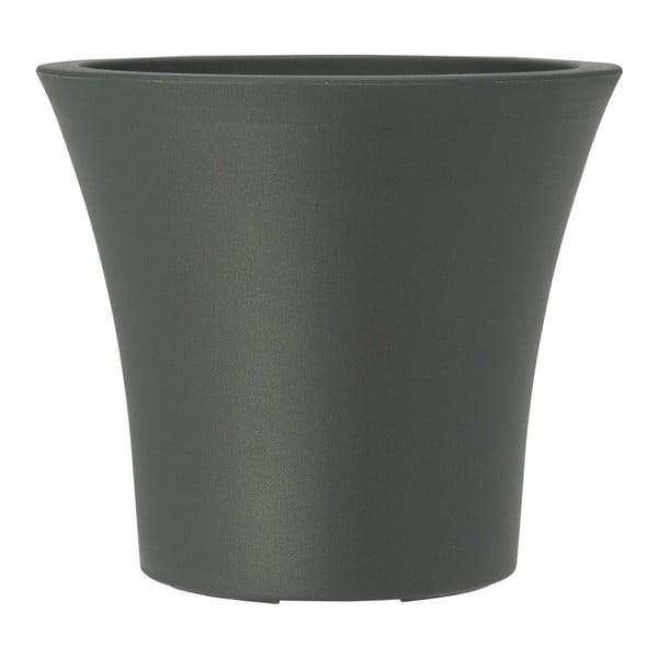 Květináč City Curve Granite, 30x27 cm
