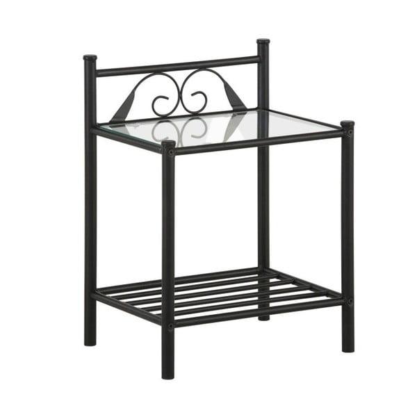 Černý noční stolek Støraa Bibi