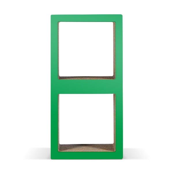 Kartonová knihovnička Bit Due Green