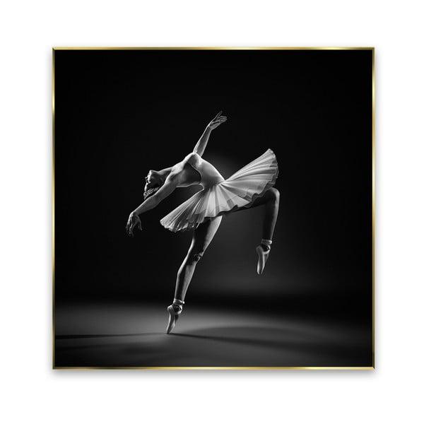 Obraz Styler Black Ballerina, 71x71 cm