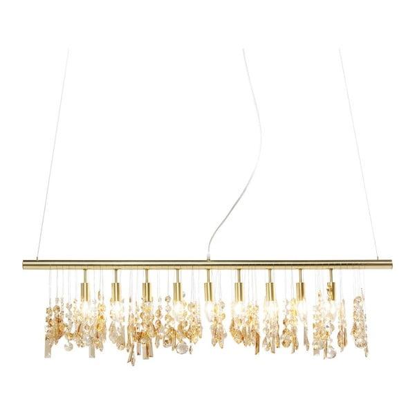 Stropní svítidlo v barvě mosazi Kare Design Klunker