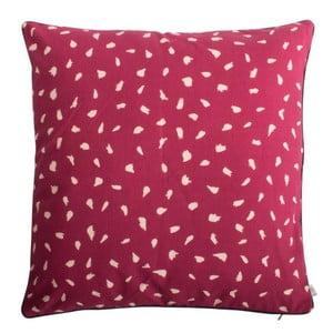 Červený polštář z čisté bavlny HARTÔ, 50 x 50 cm