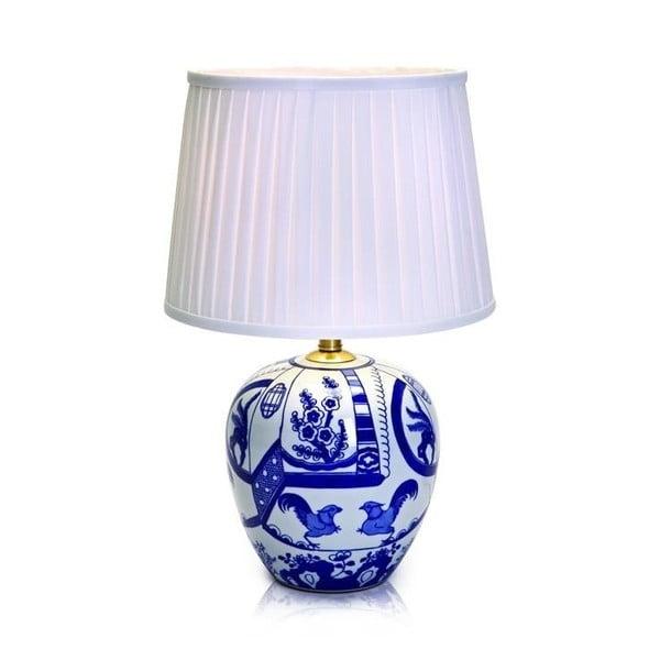 Veioză Markslöjd Goteborg, înălțime 48 cm, albastru - alb