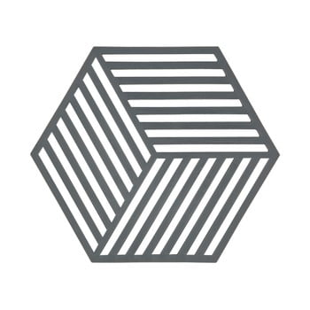 Suport pentru vase fierbinți Zone Hexagon, gri închis imagine