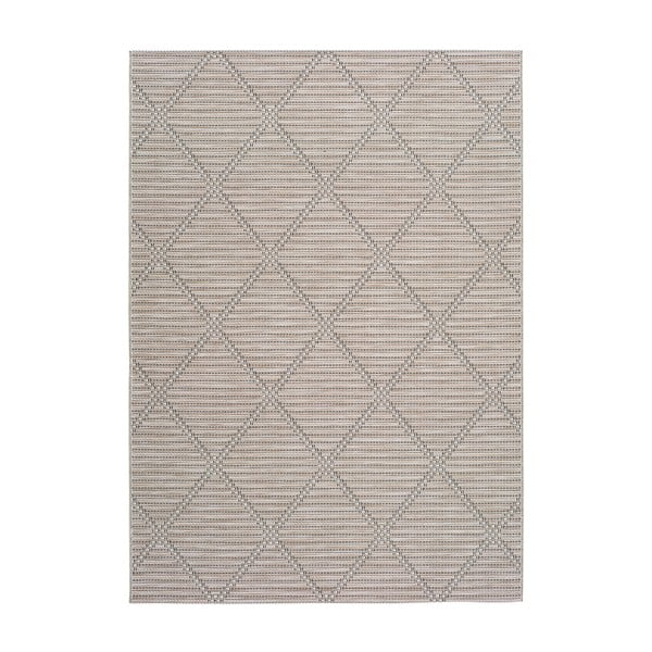 Béžový vonkajší koberec Universal Cork, 55x110 cm